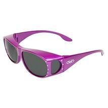 Global Vision Eyewear Fanfare 2 Pink SM Women's Over Prescription Sungla... - $27.89