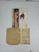Vintage Vogue Americana Patterns 2824 Designed by Anne Klein Pants Jacke... - $7.99