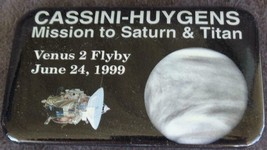 Collectible Cassini-Huygens Mission to Saturn &Titan Pin - VGC - 1999 - ... - $8.90