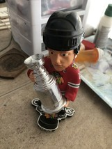 NHL Johnathan Towes Stanley Cup Champions Chicago Blackhawks Bobblehead ... - $39.99