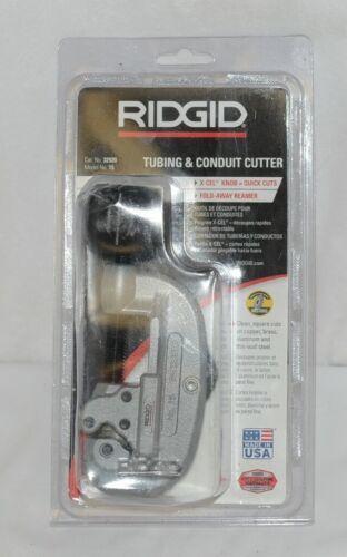 Ridgid 32920 Tubing Conduit Cutter X Cel Knob Fold Away Reamer