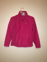Columbia Sportswear Girls Benton Springs Fleece Jacket Size 10/12 - $3.00