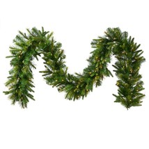 "Vickerman 9' x 14"" Mixed Cashmere Pine Artificial Christmas Garland -Cle... - $97.75"