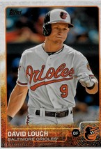 2015 Topps Baseball Card, #290, David Lough, Baltimore Orioles - $0.99