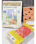 Teach Yourself Beginners Potuguese Language 2 Audio Cds and 2 Books - $24.75
