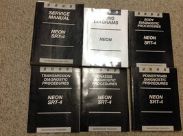 2005 Dodge Neon SRT-4 Shop Service Repair Manual SET W Diagnostics + Wiring Diag - $316.75