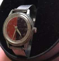Men's Caravelle By Bulova 1971 (n1) Rare To / After Black Red 17j Mech. ... - $78.35