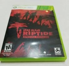 Dead Island: Riptide Special Edition (Microsoft Xbox 360, 2013) Tested - $9.89