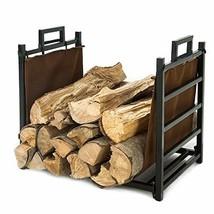 LITHER 18inch Small Decorative Indoor/Outdoor Firewood Racks Log Rack, S... - $48.23