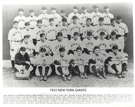 1933 New York Giants 8X10 Team Photo Baseball Picture Ny Nl Champs Mlb - $3.95