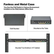 MokerLink 4 Port PoE Switch with 2 Uplink Ethernet Port, 78W High Power, Support image 5