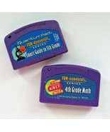 Two (2) Leap Frog Quantum Pad Cartridges Smart Guide to 5th Grade 4th Gr... - $3.95