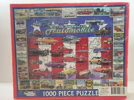 White Mountain Puzzles The American Automobile First 100 Years 1000 Piec... - $28.04