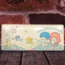 Vintage Sanrio Little Twin Stars Rare Padded Puffy Pencil Case 1976 Japan - $175.00