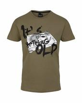 Bench Getting Old Urban Streetwear Men's Khaki Green T-Shirt NWT