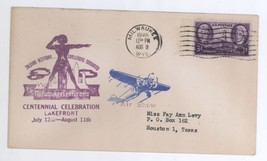 1946 Milwaukee Centurama Cent. Lakefront Celebration Air Show Cover - $9.99