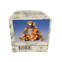 Fitz and Floyd Candy Corn Caper Charming Tails Mouse Halloween Decoration 85/104 - $18.99