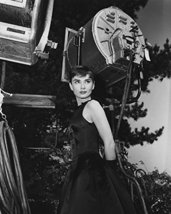 Audrey Hepburn In Sabrina By Movie Lights On Set 16X20 Canvas Giclee - $69.99