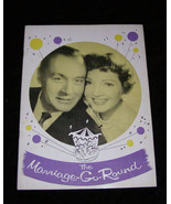 The Marriage Go Round Program Musical Vintage Charles Boyer Claudette Co... - $18.99