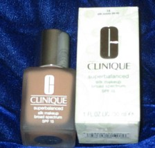 Clinique Superbalanced Silk Makeup Foundation SPF15 14 Silk Suede NEW Boxed - $21.78