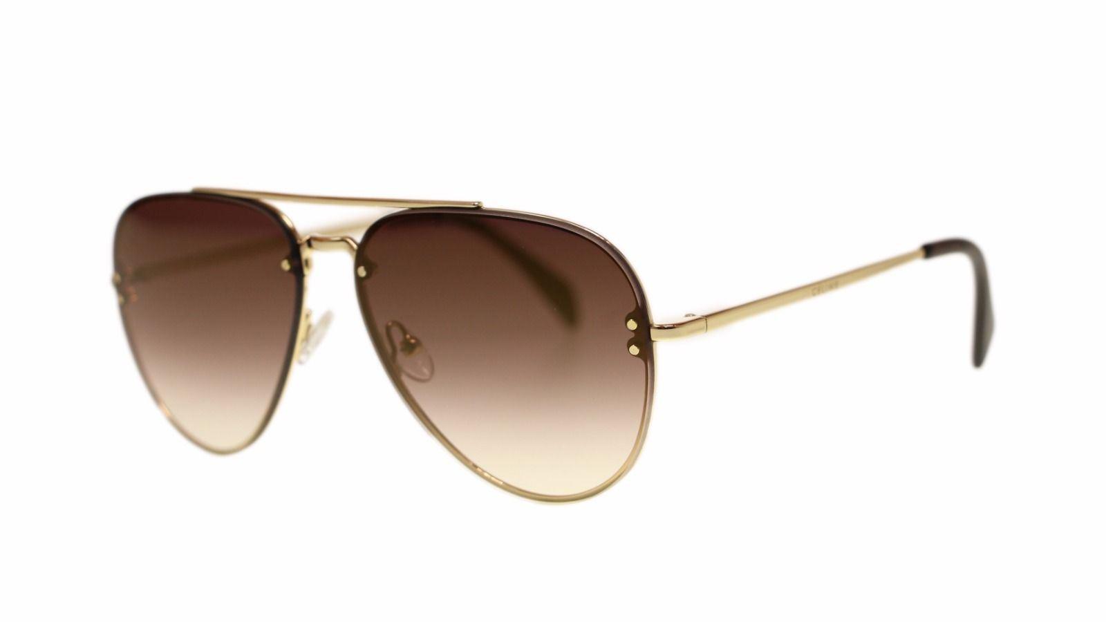 df3983b1ec1 S l1600. S l1600. Previous. Celine Unisex Sunglasses Cl41392 J5G QH Gold  Brown Mirror Gold Lens Aviator 58mm