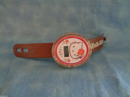 McDonald's 2008 Sanrio Hello Kitty Brown Watch Happy Meal Toy - $1.56