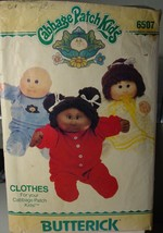"Cabbage Patch Kids 16"" Doll Clothes 1984 Pajamas & Nightgown Cut & Complete 6507 - $4.99"