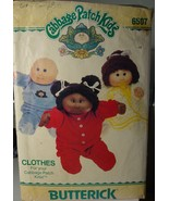 """Cabbage Patch Kids 16"""" Doll Clothes 1984 Pajamas & Nightgown Cut & Complete 6507 - $4.99"""