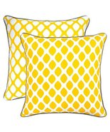 TreeWool, (Pack of 2) Droplets 2-in-1 Accent Throw Pillow Covers in Cott... - $17.99