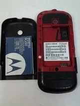 Motorola Model VE440 Black and Red Bar Cell Phone image 10