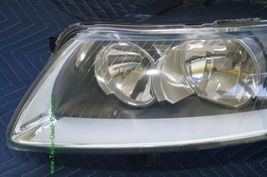 05-08 Audi A6 Halogen Headlight Head Light Lamp Assy Driver Left LH image 3