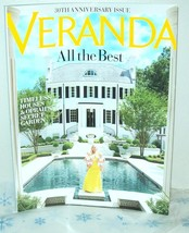 VERANDA Sept-Oct 2017 Magazine Back Issue Home Decorating 30th Anniversary - $7.95