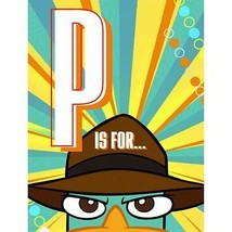 Phineas and Ferb Agent P Invitations Birthday Party Supplies - 8 Per Package New - $2.92