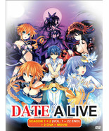 DATE A LIVE Complete Season 1+2 (1-22 end) +2 OVAs & Movie English Dub USA - $31.74