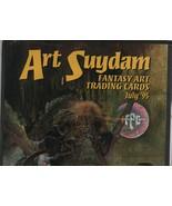 Arthur Suydam Fantasy Art Trading Cards July '95 Poster (no cards) - FPG. - $18.61