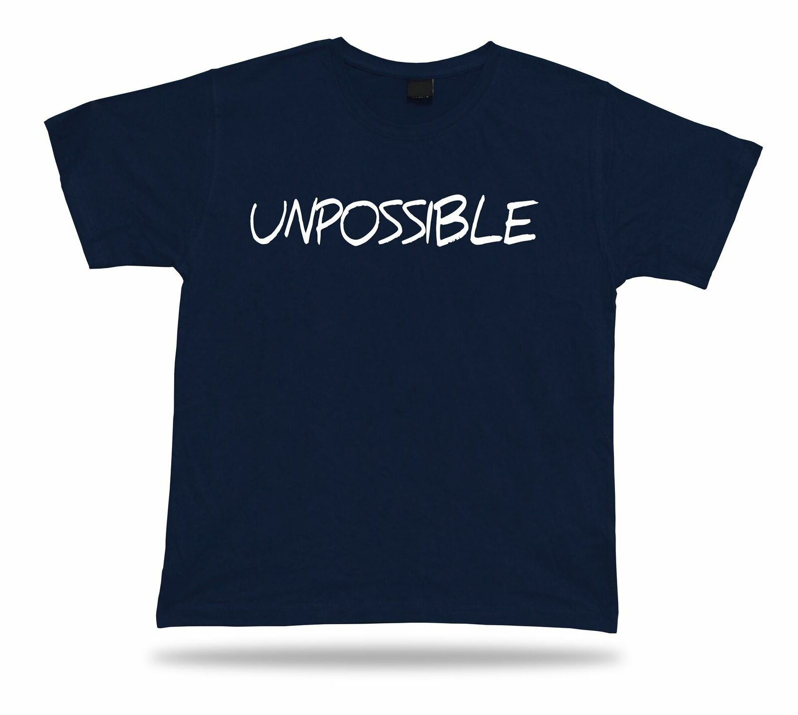 Primary image for UNPOSSIBLE lucky success life master skill funny T shirt classic modern soul tee