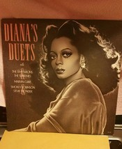 Vintage Diana Ross, Diana's duets LP record. Motown records - £4.59 GBP
