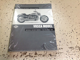 2002 Harley Davidson VRSCA Service Shop Manual Set W Electrical & Parts Book NEW - $316.75