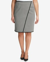 Calvin Klein Womens Plus Size Houndstooth Pencil Skirt; Size 16W - $29.99