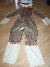 Size Medium 8 Zombie Sock Monkey Halloween Costume Disguise New NWOT - $28.00