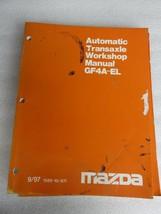 1997 Mazda GF4A-EL Automatic Transmission Service Repair Manual OEM Factory Shop - $11.45
