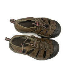 Womens Keen Newport Leather Sandals Shoes 6 Brown Pink Sport Waterproof Water - $22.14