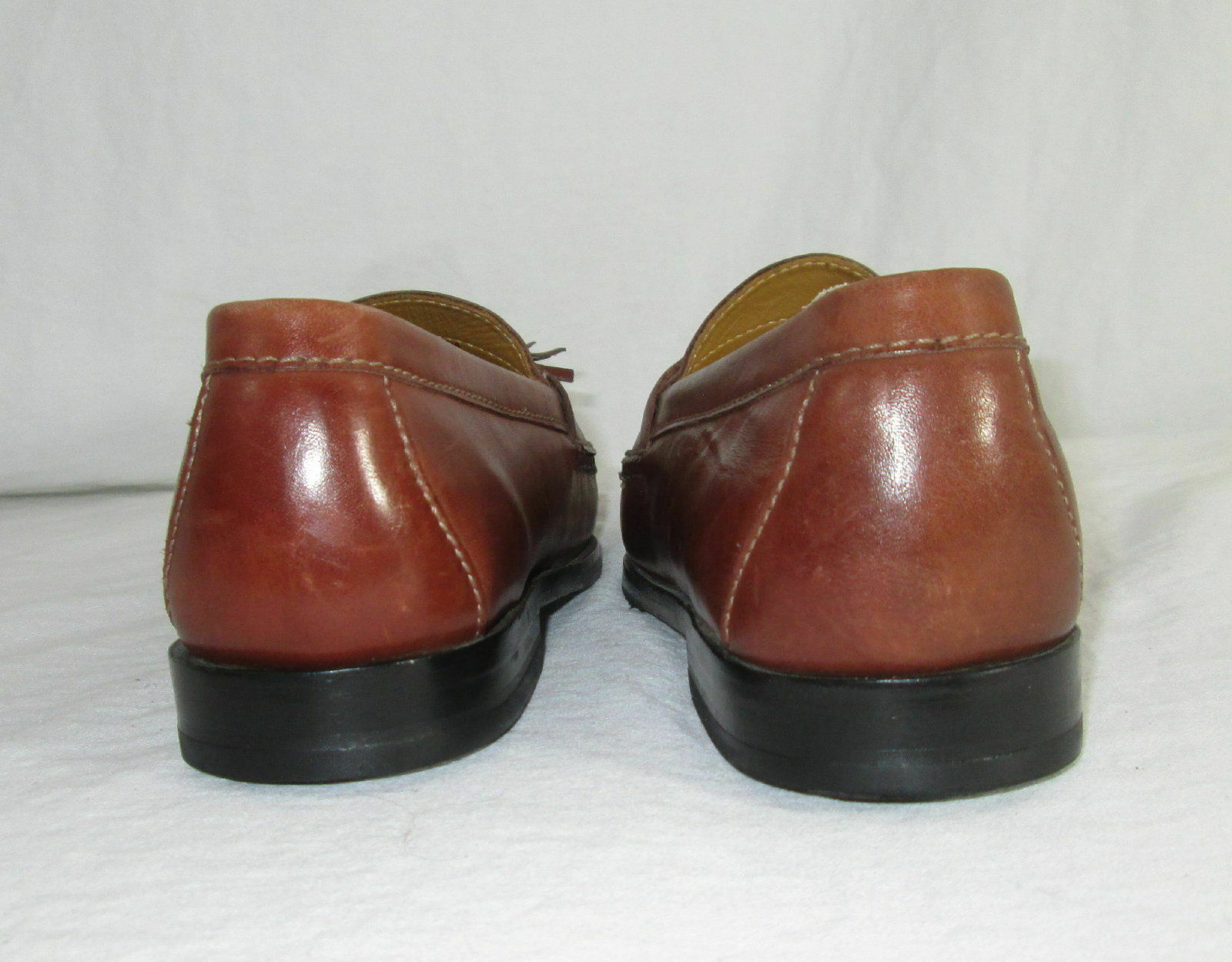 Cole Haan Shoes Size 7.5 Loafers Mens Brown Leather Tassels C06982 India  image 5
