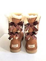 UGG BAILEY BOW II CHESTNUT WATER RESISTANT WOMEN BOOT US 5 / EU 36 / UK 3 - €107,31 EUR