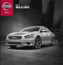2013 Nissan MAXIMA sales brochure catalog US 13 3.5 S SV 4DSC - $8.00