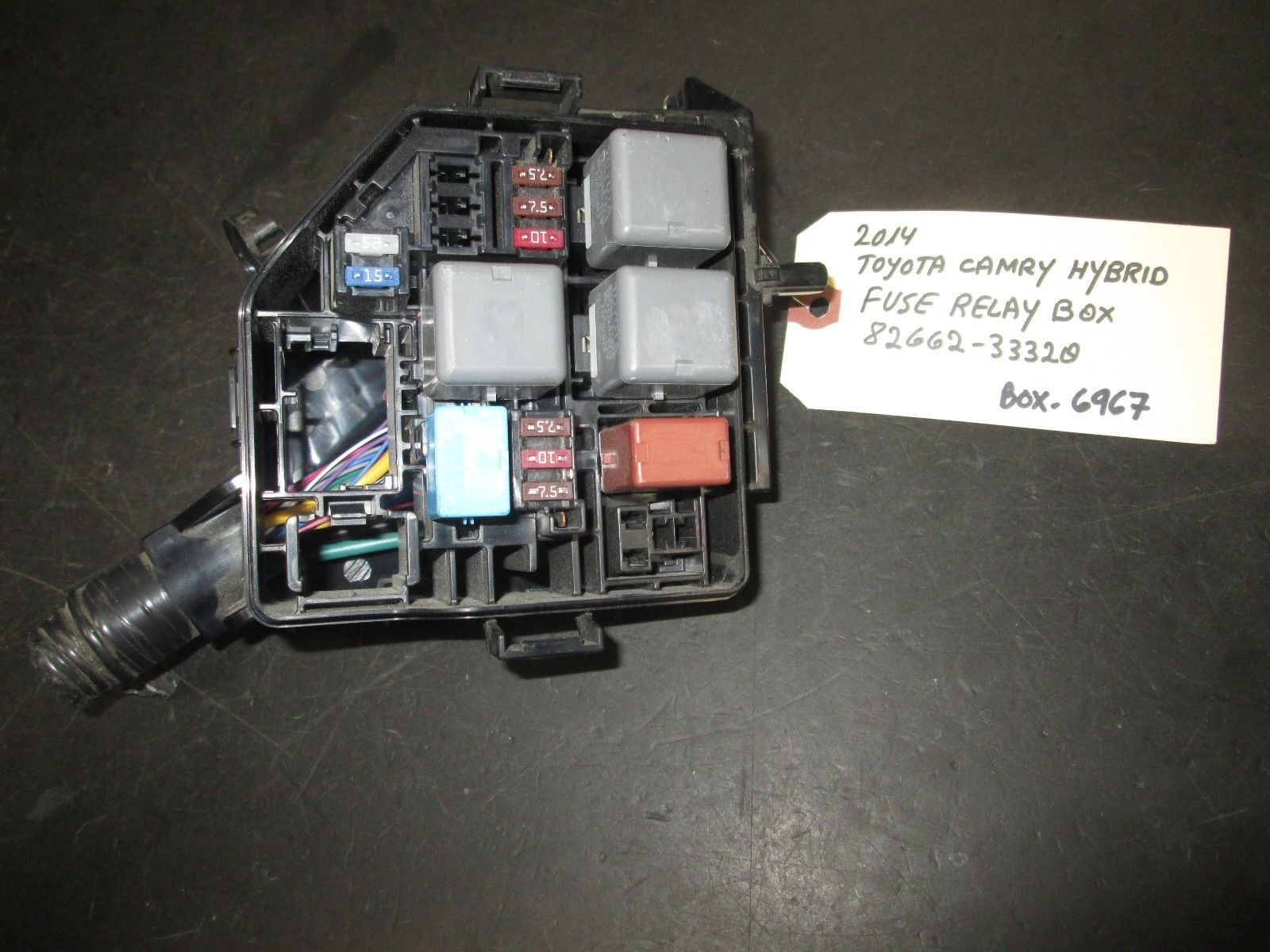 Primary image for 14 TOYOTA CAMRY HYBRID FUSE RELAY BOX #82662-33320