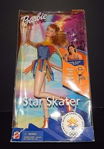 Mattel Star Figure Skater Barbie Michelle Kwan 2001 Doll NRFB #53375  - $24.74