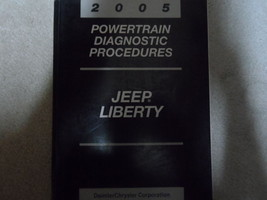 2005 Jeep Liberty POWERTRAIN Diagnostic Manual FACTORY OEM BOOK 05 - $39.56