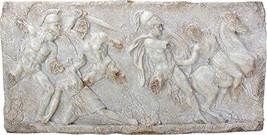 SUMMIT COLLECTION Battle Between Greeks and Amazones Replica Wall Plaque... - £168.29 GBP