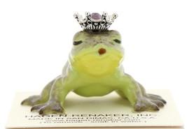 Hagen-Renaker Miniature Frog Prince Kissing Birthstone 02 February Amethyst - $13.96